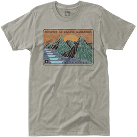 Hippy Tree Fjord T-Shirt Homme, grey